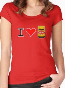 I Love Vegemite Women's Fitted Scoop T-Shirt