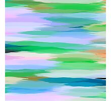 Pastel Colored Abstract Art Photographic Print