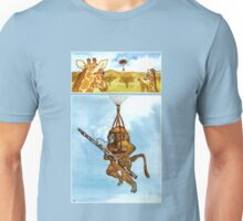 A Baboon Plays Bassoon From Balloons Unisex T-Shirt