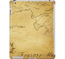 Old treasure map iPad Case/Skin