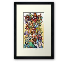 Dota 2 - Characters and their couriers (Pets) Framed Print
