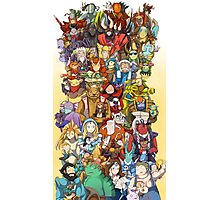 Dota 2 - Characters and their couriers (Pets) Photographic Print