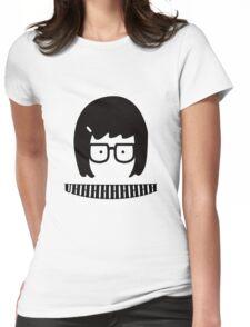 Tina Blecher UHHHHHHHH Womens Fitted T-Shirt
