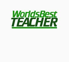 Worlds best teacher Womens Fitted T-Shirt