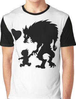 monster dark  and kids Graphic T-Shirt