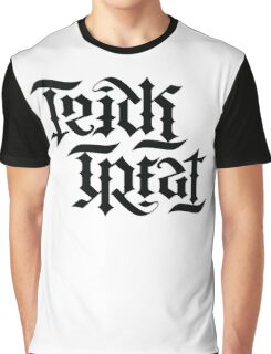 TrickTreat typography Graphic T-Shirt