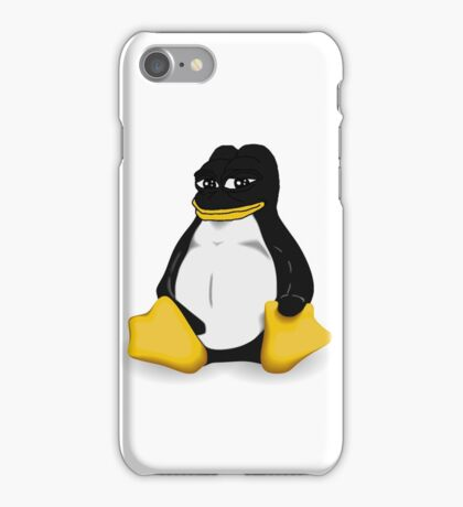 Linux Pepe iPhone Case/Skin