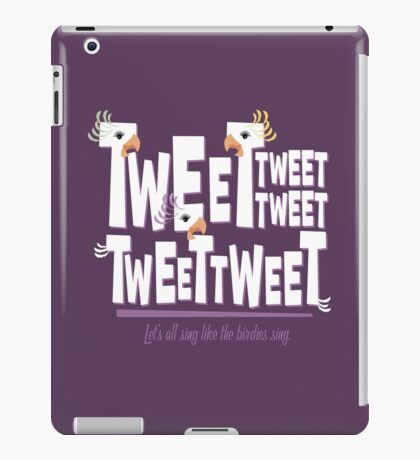 Bird Mobile iPad Case/Skin