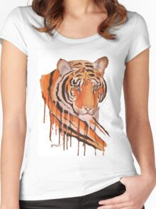 Crying Tiger Women's Fitted Scoop T-Shirt