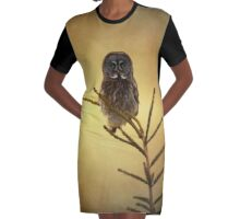 As the sun goes down Graphic T-Shirt Dress