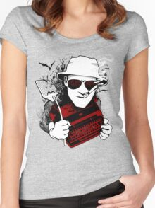We Can't Stop Here - Homage to Hunter Thompson Women's Fitted Scoop T-Shirt