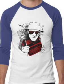 We Can't Stop Here - Homage to Hunter Thompson Men's Baseball ¾ T-Shirt