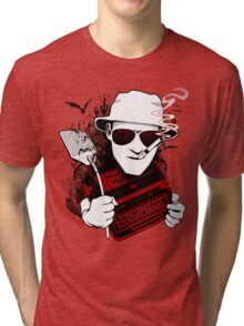 We Can't Stop Here - Homage to Hunter Thompson Tri-blend T-Shirt