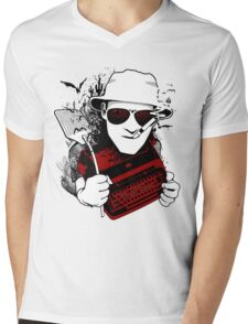 We Can't Stop Here - Homage to Hunter Thompson Mens V-Neck T-Shirt