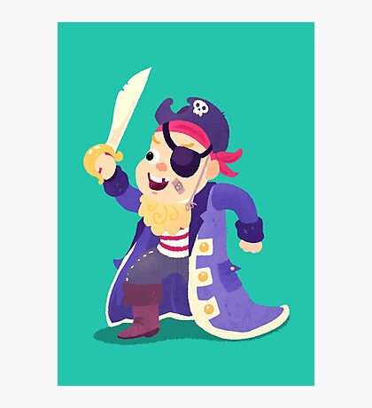 Halloween Kids - Pirate Photographic Print