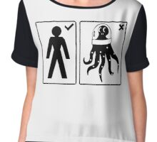 Sorry, I only date humanoids (male) Women's Chiffon Top