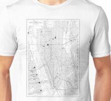 Vintage Map of New York City (1911) Unisex T-Shirt