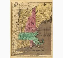 Vintage Map of New England (1836) Unisex T-Shirt