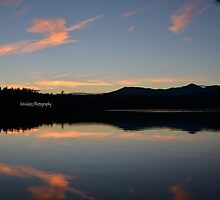 Sunset over Lake Chocorua by KKooPhotography
