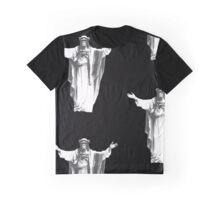 Jesus Chimp Graphic T-Shirt