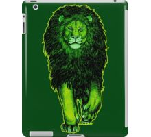 The Green Lion by Cheerful Madness!! iPad Case/Skin