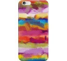 Colorful Pastel Abstract Art iPhone Case/Skin