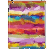 Colorful Pastel Abstract Art iPad Case/Skin
