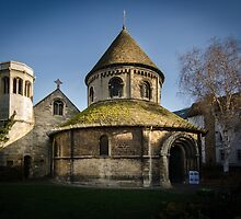 Holy Sepulchre, Cambridge by Sue Martin