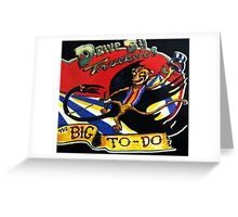 DRIVE BY TRUCKERS TOURS 1 Greeting Card