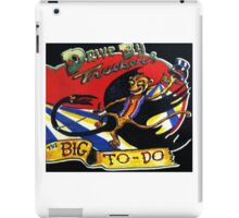 DRIVE BY TRUCKERS TOURS 1 iPad Case/Skin