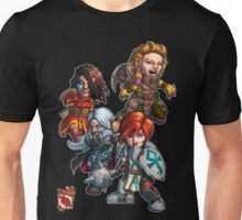 Tiny Fantasy Adventures: Core Party! Unisex T-Shirt