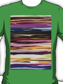 Watercolor Colored Abstract Background T-Shirt