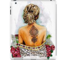 henna collection: Homra iPad Case/Skin