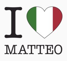 I ♥ MATTEO by eyesblau