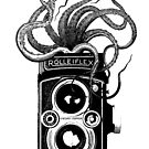 Rolleiflex Camera with octopus by monsterplanet