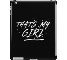 Fifth Harmony That's My Girl Official 7/27 Merch #5 ( White ) iPad Case/Skin