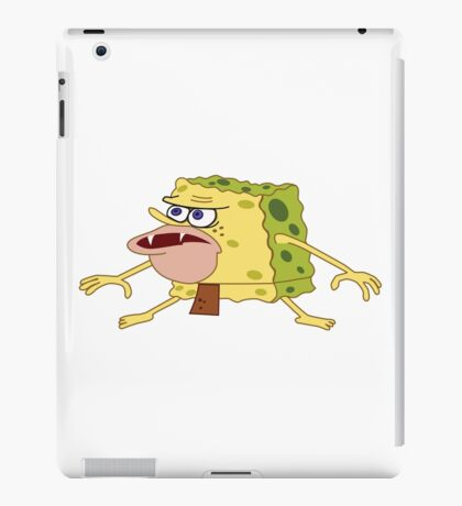 cave spongebob iPad Case/Skin