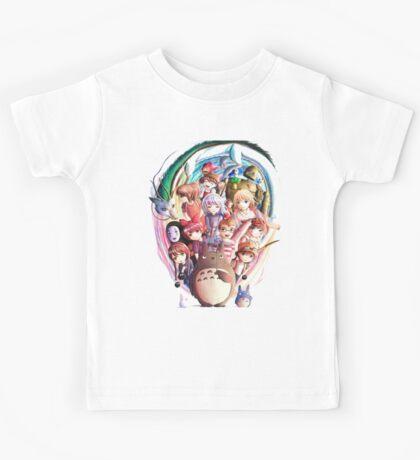 World of Ghibli Kids Tee