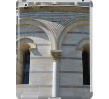 Detail of the Baptistery building in Piazza dei Miracoli (Square of Miracles), Pisa, Tuscany, Italy iPad Case/Skin
