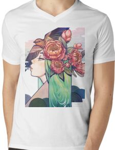 Guardian of the Forest Mens V-Neck T-Shirt