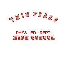Twin Peaks High School Phys. Ed. Dept. Photographic Print