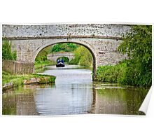 Longboat Through the Arches Poster