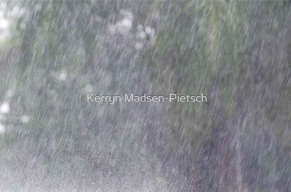 Wet Tropics Downpour by Kerryn Madsen-Pietsch