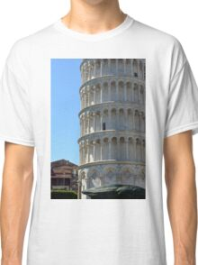 Leaning Tower in Piazza dei Miracoli (Square of Miracles), Pisa, Tuscany, Italy Classic T-Shirt