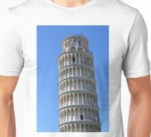 Leaning Tower in Piazza dei Miracoli (Square of Miracles), Pisa, Tuscany, Italy Unisex T-Shirt
