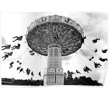 Swing ride, Stockholm Poster