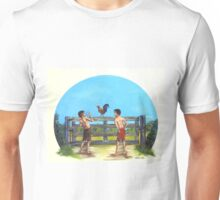 Red Neck Cock Fight Unisex T-Shirt