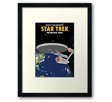 Star Trek - USS Enterprise NCC-1701 Framed Print