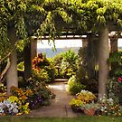 Wave Hill Pergola by Jessica Jenney