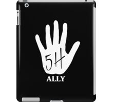 """Fifth Harmony """"FiveHigh Ally"""" Official 7/27 Merch #4 ( White ) iPad Case/Skin"""